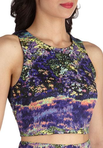 $17 Meadow Meandering Top, #ModCloth