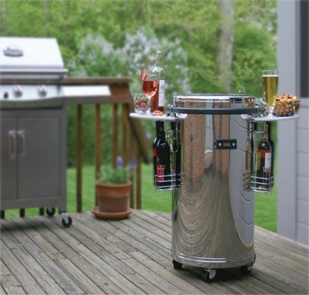 Partycooler- kjøleskap på hjul, 50 liter, temp 0 til 10 grader  Dette er den ultimate partycooleren!