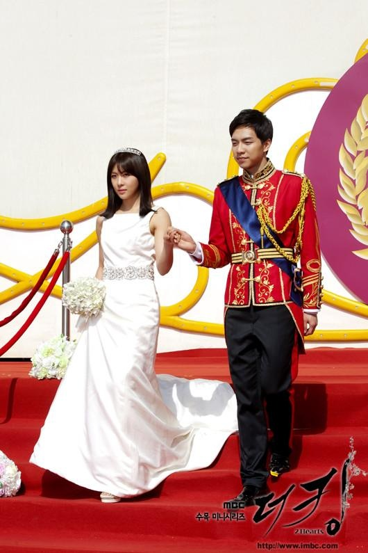 Lee seung gi and Ha Ji Won --- King2Hearts