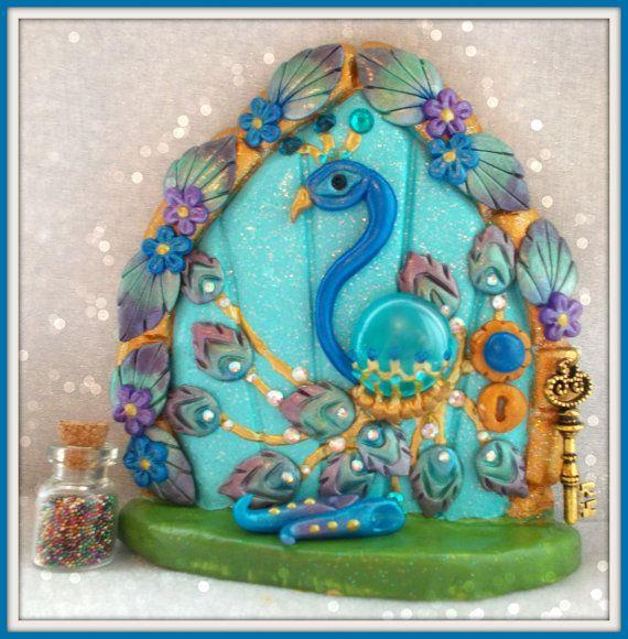 429 best fairy doors images on pinterest christmas fairy for Idea behind fairy doors