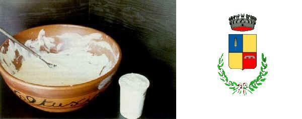 Mascarpone di Battipaglia - Stemma del Comune di Battipaglia (Salerno) Mascarpone di bufala di Battipaglia  è un mascarpone speciale che viene prodotto stagionalmente a livello locale utilizzando la panna di latte di bufala allevata prevalentemente al pascolo.