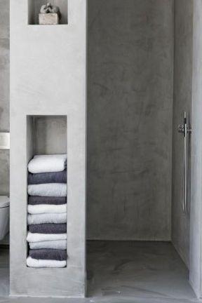 Betonstuc badkamer / toilet