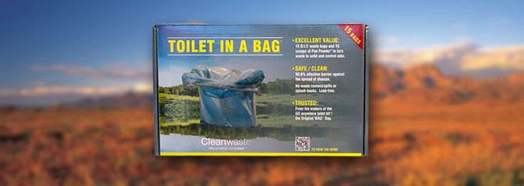 """ezygonow-toilet-in-a-bag-portable-toilet An easy """"way to go"""" when bathroom facilities are unsafe, unavailable, unsanitary. #outdoors #toilet #campingtoilet #portabletoilet #leavenotrace #toiletbag"""
