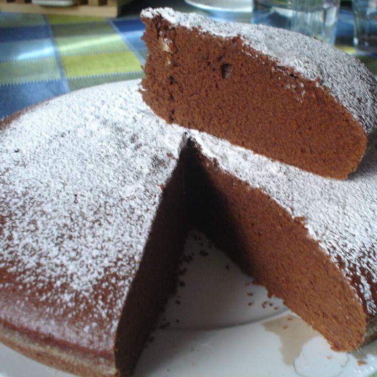 Ricetta Torta di cioccolato fondente di Nonna Papera (di Anna Moroni) bimby