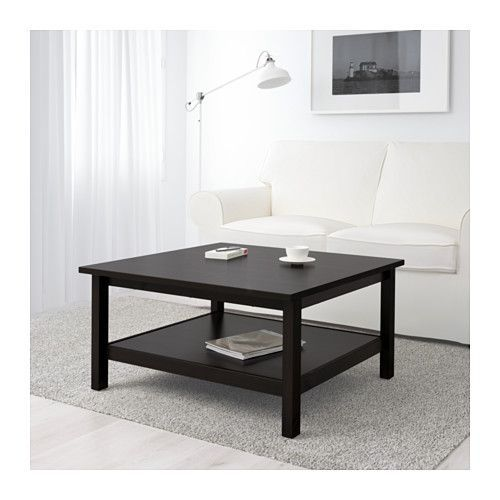 HEMNES Coffee table, black-brown black-brown 35 3/8x35 3/8