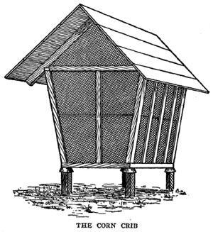 Wire Corn Crib Plans Woodworking Projects Amp Plans