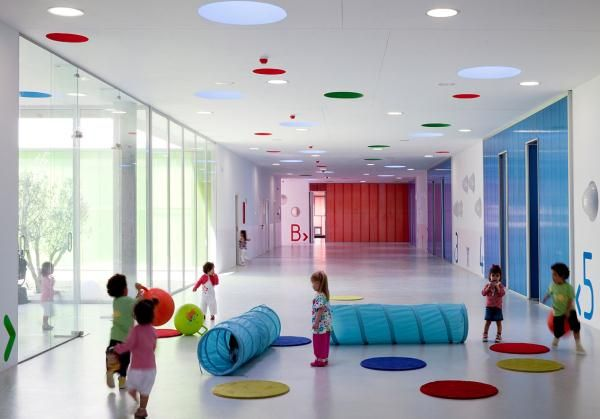 Amazing Interior Design Concepts Preschool With Full Color By Pizzaro Rueda 06  Picture | Skole Byggeri | Pinterest | Pre School, Janitorial Services And  School