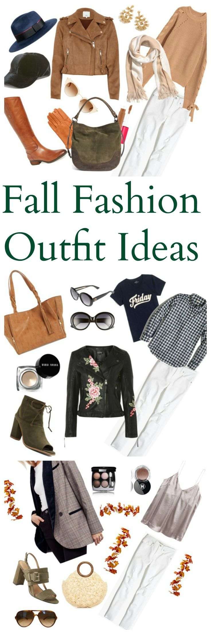 Fall Outfit Ideas to WEAR Now! Chic, Classic & Casual Wardrobe Staples to Stand Out from the Crowd! Trending Fall Fashion for Women on Budget with Plaid, Prints, Embroidery and NEW Ways to Wear White Denim!