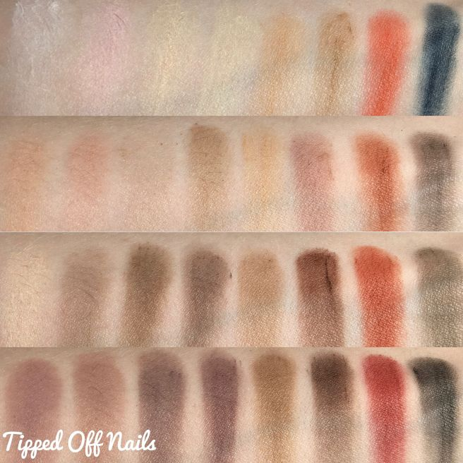 Makeup Revolution Flawless Matte 2 Swatches & Review