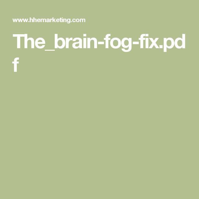 10 melhores imagens de hay houses free e books no pinterest feno thebrain fog fixpdf fandeluxe Images