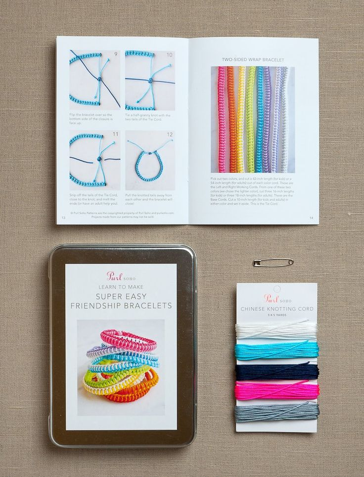 Purl Soho Kits_Super Easy Friendship Bracelets Kit_Anemone_M