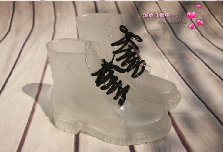Livraison gratuite , de la mode au Japon l'eau de couleur claire shoes.antiskid courte pluie bottes femmes bottes en caoutchouc , 8 couleurs dans Bottines de Chaussures sur AliExpress.com   Alibaba Group