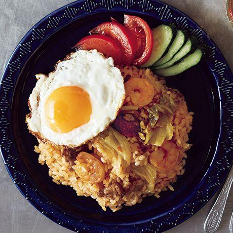 ナシゴレン風うま辛ご飯 | ヤミーさんのチャーハンの料理レシピ | プロの簡単料理レシピはレタスクラブニュース