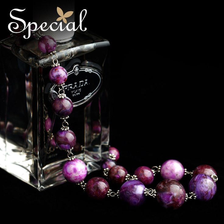 ==> [Free Shipping] Buy Best Special Fashion Maxi Necklaces Natural Stones Vintage Beaded Purple Necklaces & Pendants Free Shipping Gifts for Women XL141138 Online with LOWEST Price | 2041269985