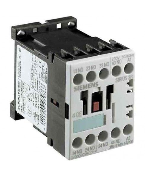 A contactor is an electrically controlled switch used for switching a power circuit, similar to a relay except with higher current ratings. A contactor is controlled by a circuit which has a much lower power level than the switched circuit. Brand-Siemens, Power Contactor, Rated Current-22A, Frequency-50Hz, Voltage-110 V, Contactor Size-1, Packaging Unit-1, Warranty as per manufacturer's warranty policy