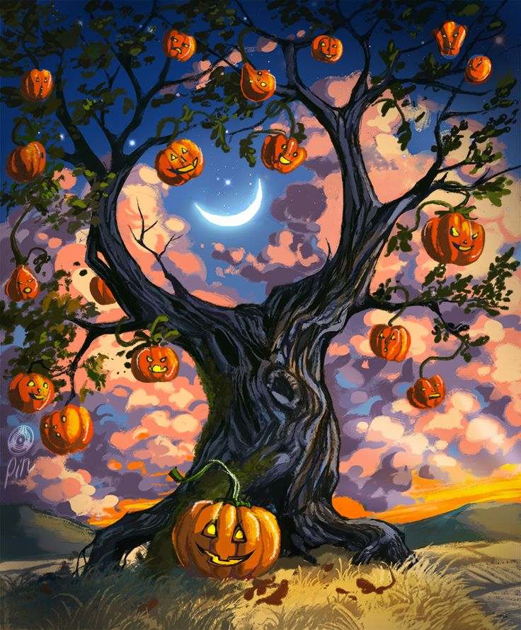 This is drawing for all my friends and watchers and all people who ever support me! I wish toy all to have spooky Halloween weekends And yes it is heavily inspired by Ray Bradbury book Halloween Tr...