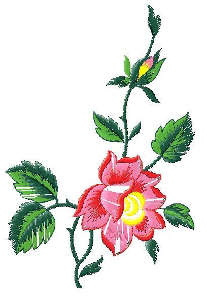 Floral embroidery design free designs