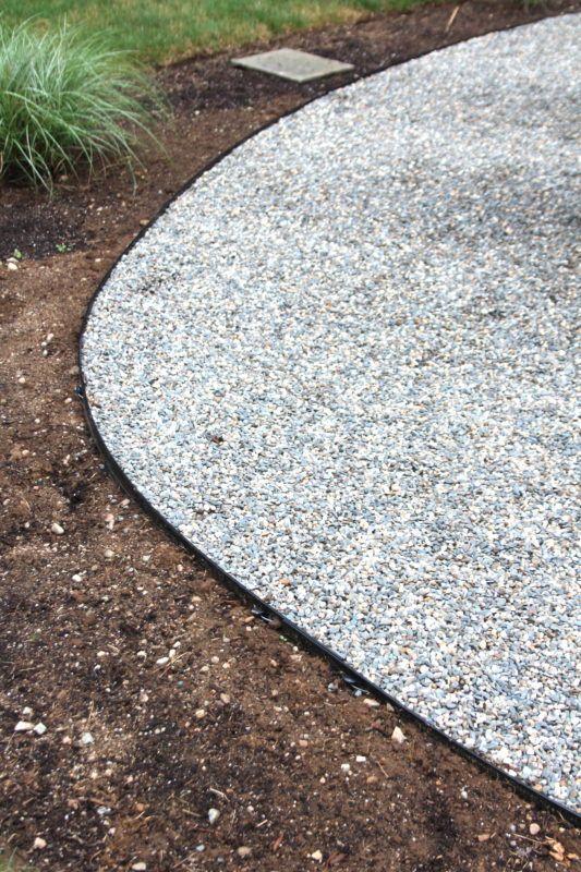 Installing A Pea Stone Patio - Shine Your Light