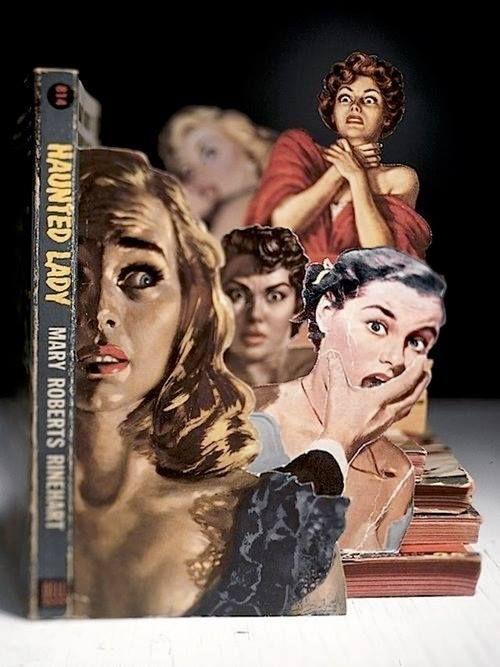 Book-Cut Artworks by Thomas Allen.