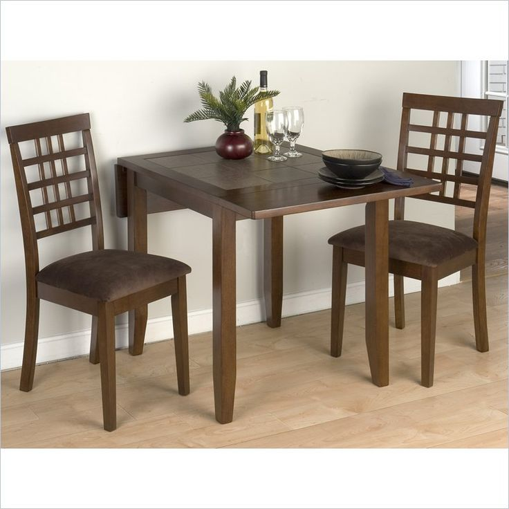 Lovely Jofran 976 Series 5 Piece Casual Dining Table Set In Caleb Brown   976 30
