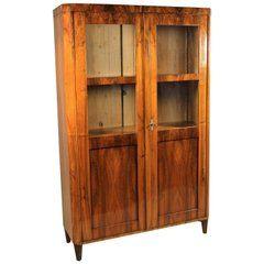 Biedermeier Cabinet Bookcase, Austria, circa 1825