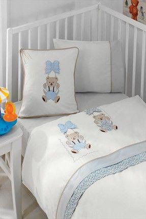 Evlen Home & Alanur Home Collection - Bebek Nevresim Takımı Mavi GLNBBKMA %33 indirimle 99,99TL ile Trendyol da