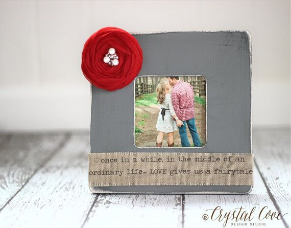 Valentine's Personalized Frame Gift for Him Husband Fiance Her Wife ...
