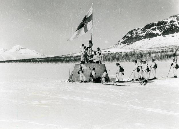 Sotiminen päättyi Lapissa lopullisesti vasta huhtikuussa 1945.