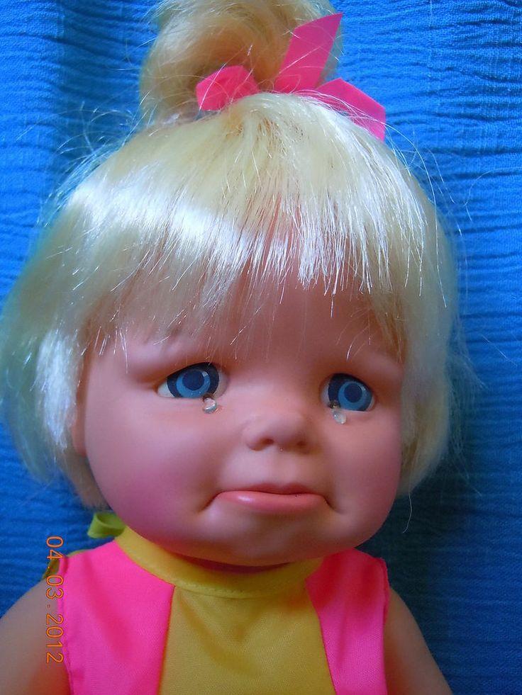 Vintage Baby Smile'n Frown Baby Doll Mattel 1965