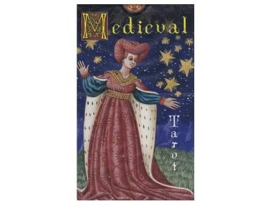 Medieval Tarot - A tarot deck with a difference.  This deck has a medieval style with historical details included and simplistic designs throughout.  The colours are vibrant and the detailing on the imagery makes for clean uncluttered cards.