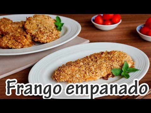 Receita de Filé de Frango empanado com Aveia - Receitas e Temperos