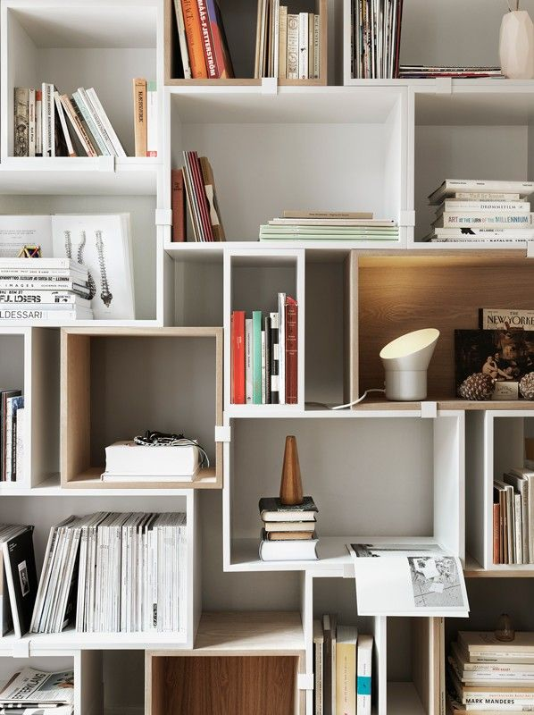 Why bring in the same ol' kind of shelves when ergonomic is the trend of the season. #StorageIdeas