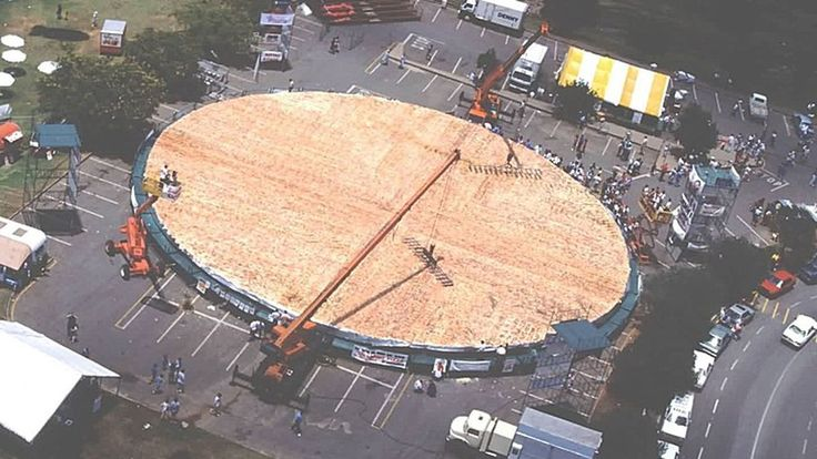 The World's Largest Pizza Ever Weighed 26,883 lbs