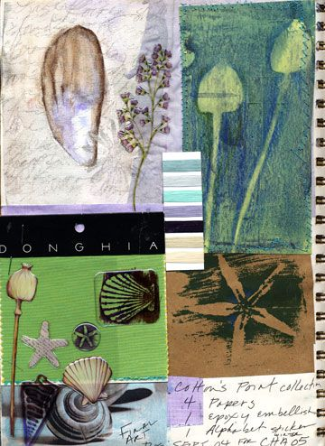 Christine Adolph - Inspiration Sketchbook