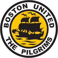 Boston United Football Club is an English football club based in Boston, Lincolnshire. The club participates in the Conference North, the sixth tier of English football. The club is known as 'the Pilgrims' in reference to the Pilgrim Fathers, who fled from England and sailed to North America and founded Boston, Massachusetts. The club's crest, the pilgrim fathers' ship 'The Mayflower', is also a reference to them.