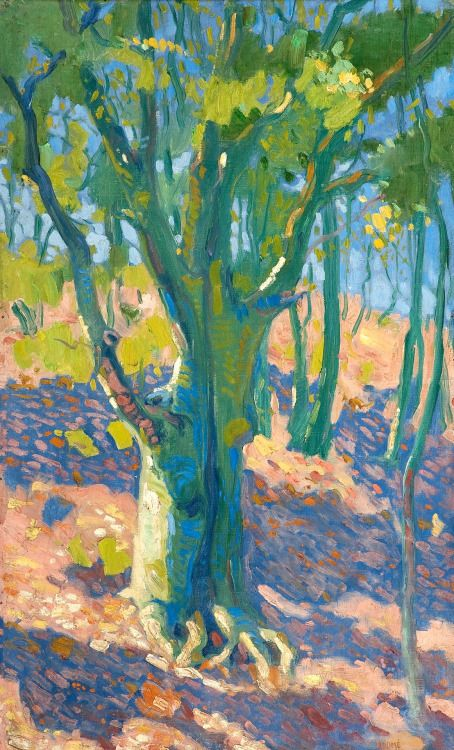 A Sunny Grove - Verner Thome
