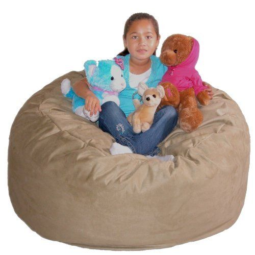 3-Feet Medium Brown Cozy Sac Bean Bag Chair Love Seat by The Cozy Sac. $99.00. The Cozy Sac foam chair is the most comfortable place to sit anywhere. They are filled with the softest virgin urethane foam available. The urethane foam will spring back to normal size after every use and not go flat like the traditional bean bag chairs. The Cozy Sac foam chair will conform to you body like no other chair on the market. You can choose from 18 decorator colors. The material is made of...