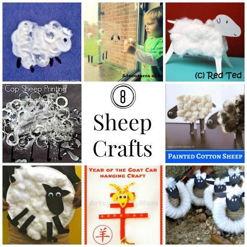 Sheep Crafts for Kids- Kid World Citizen