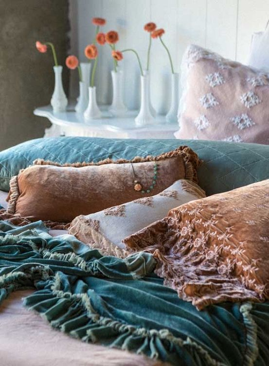 Bella Notte Linens Loulah Throw Blanket Ships Free, Gorgeous Silk Velvet Throw Blanket