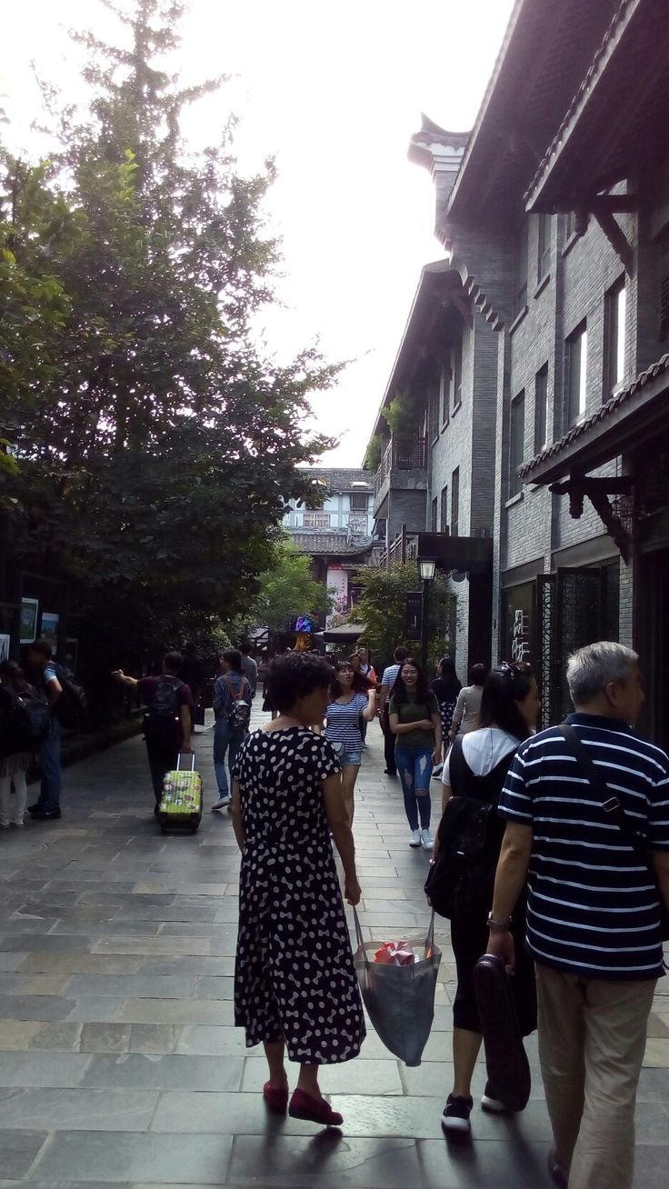 Kuanzhai Alley, Chengdu, China