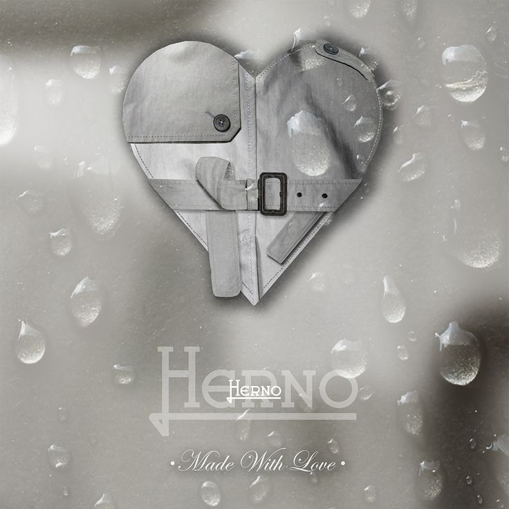 Details are the heart of our days. Made with love! #Herno #ValentinesDay #SanValentino