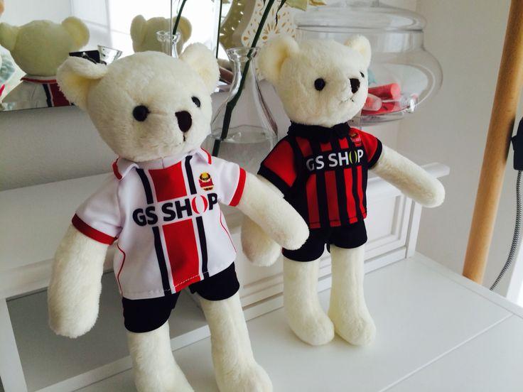 FCSeoul, Teddy Bears, FC Seoul Teddy Bears home and away.  ⚫️