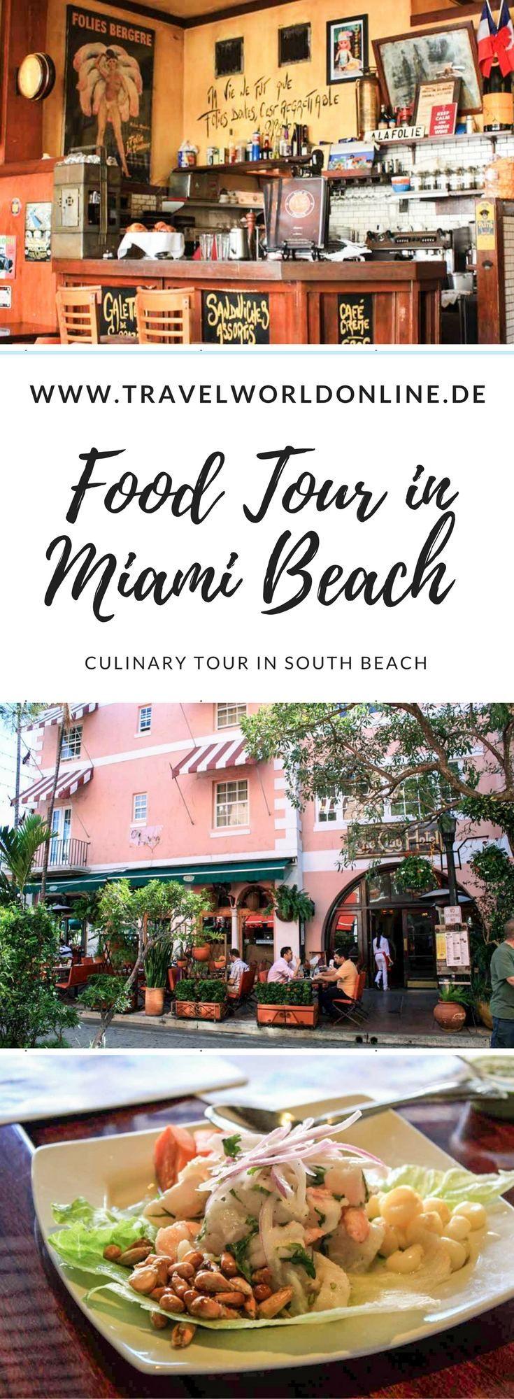 Eine Food Tour in Miami Beach ist eine tolle Möglichkeit, South Beach aus anderer Perspektive zu sehen.