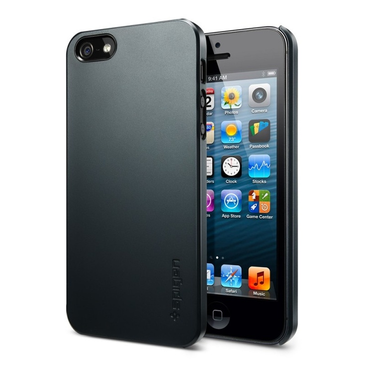 SPIGEN SGP iPhone 5 Case Ultra Thin Air - Metal Slate