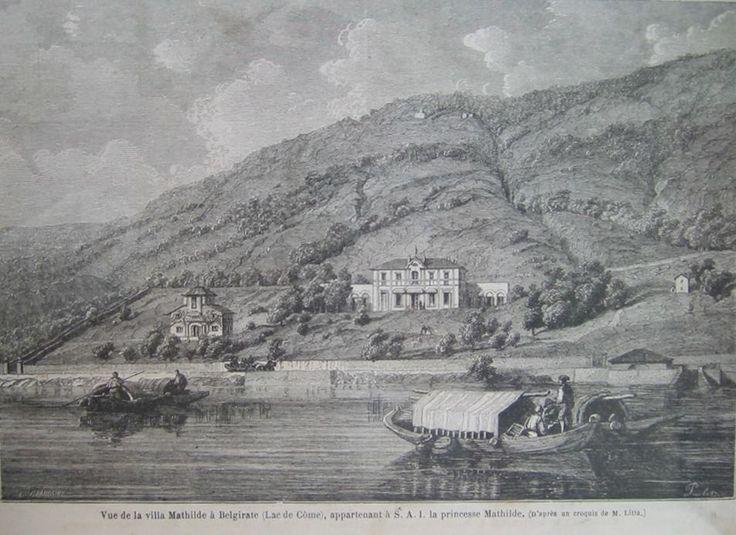 #Belgirate a metà Ottocento ( #Verbania #Piedmont #Italy )