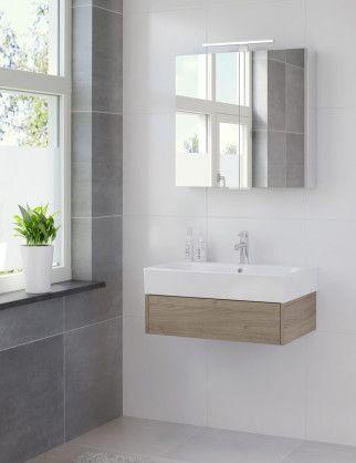 Bruynzeel Uno 75 cm tortona // badmeubel badkamer sanitair / bathroom furniture cabinet / meuble salle de bain / design
