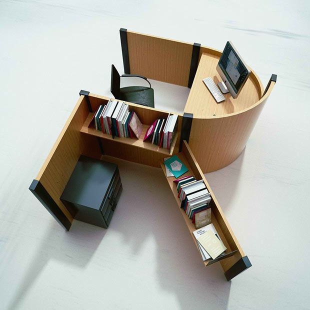 Furniture, Fold Yard Open Office System By Benoit Challand 3 Replacing  Boring Cubicles One Letter At A Time: Fold Yard Furniture Benoit Challand  Fold Yard ...