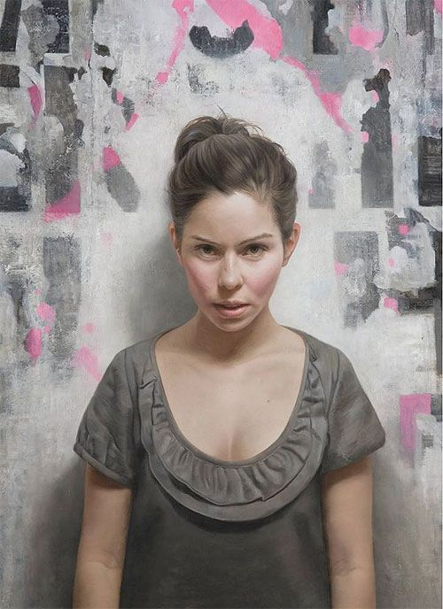 Paintings by Brooklyn-based, David Jon Kassan.
