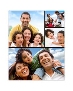 Fun Times 4 Photo Collage Poster