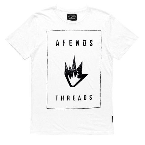 Afends Threads - Slim Fit Tee - White